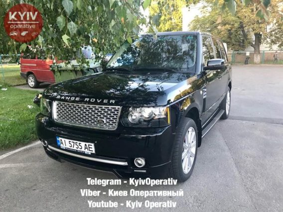 # УгонБровары #Range #Rover #Vogue ...