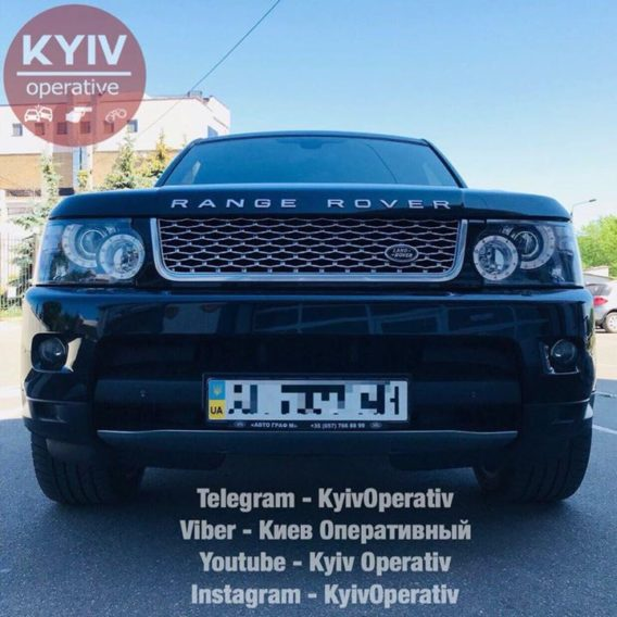 #УгонКиев  #Range  #Rover  #Supercharged ...
