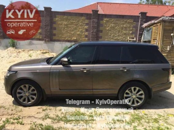 #УгонКиев  #Range  #Rover  #Vogue ...