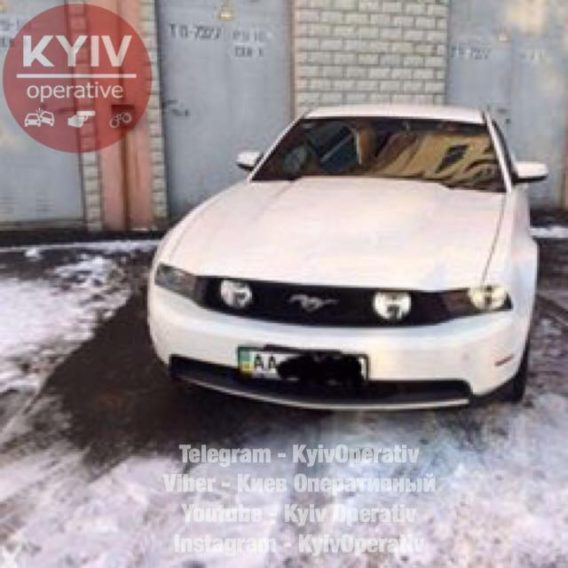 # УгонКиев #Ford #Mustang ...