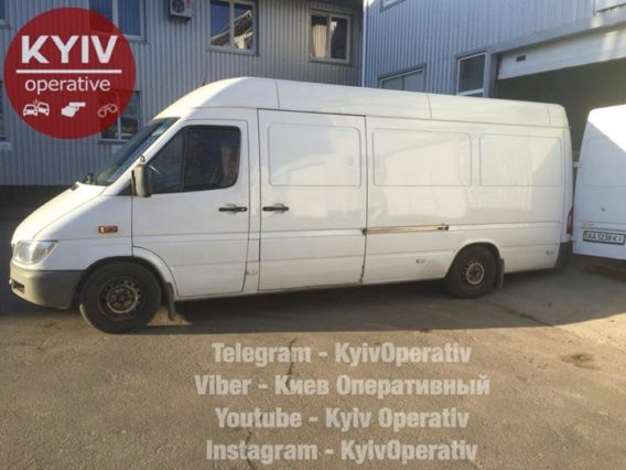 #УгонКиев  #Mercedes- #Benz  #Sprinter...