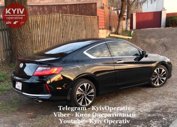 #УгонЧайки #Honda #Accord #Coupe...