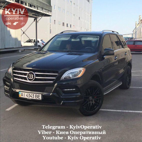 #УгонКиев #Mercedes #Benz #ML...