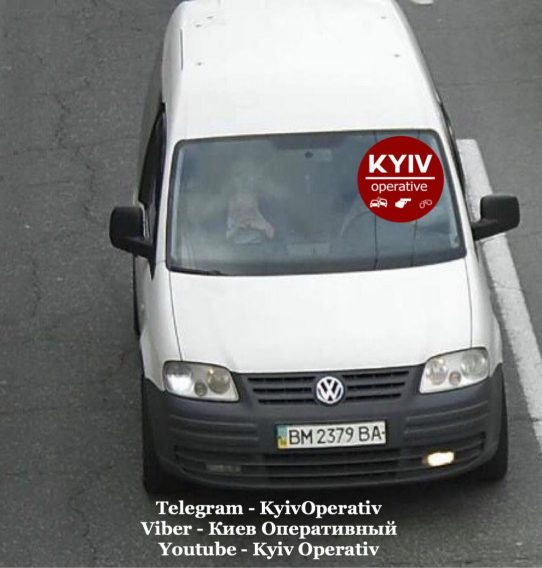 #УгонКиев #Volkswagen #Caddy